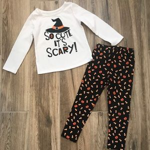 Halloween Outfit Scary Cute 3T